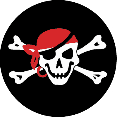 The Jolly Roger Restaurant & Bar logo